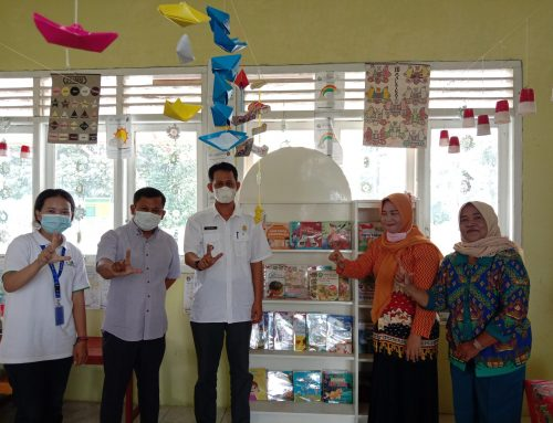 The Opening of Darma Wanita Preschool Reading Post
